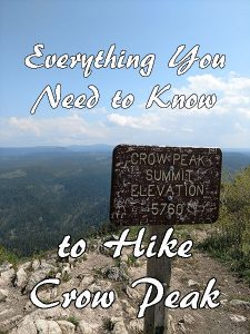 Hiking Crow Peak should be on your list of things to do when visiting the Northern Black Hills! A short drive from Spearfish, this hike can be quite a challenge at times, but offers up amazing views of the area. This is one hike you don't want to miss! Here's everything you need to know to hike Crow Peak