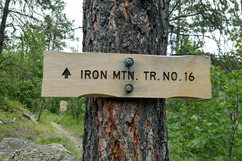 Hiking Black Elk Wilderness: Iron Mountain Trail #16