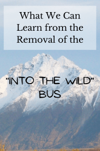"""With the removal of the """"Into the Wild"""" bus from the Stampede Trail, now is a good time to reflect of the life and death of Christopher McCandless, why so many people are drawn to him and the site of his death, and what we can learn from """"Into the Wild."""""""