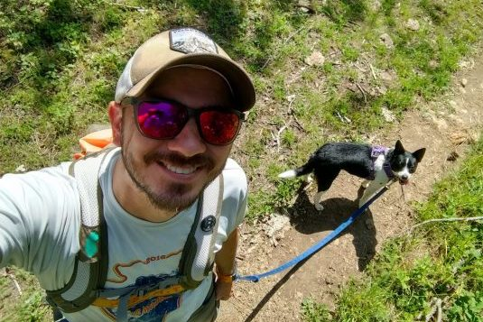 Knockaround sunglasses on the trail