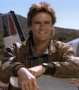 MacGyver, the human embodiment of Be Creative