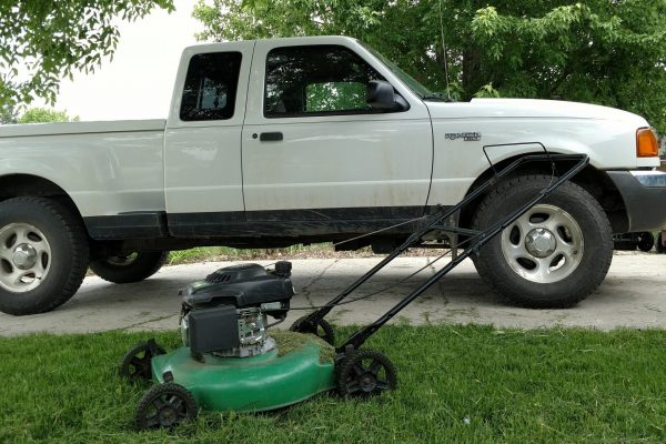 My truck isn't destroying the planet — but your lawn mower might be.